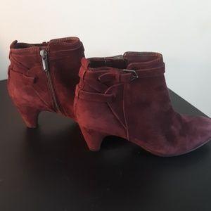 Sam Edelman Shoes - Sam Edelman Buckle Suede Maddox Booties